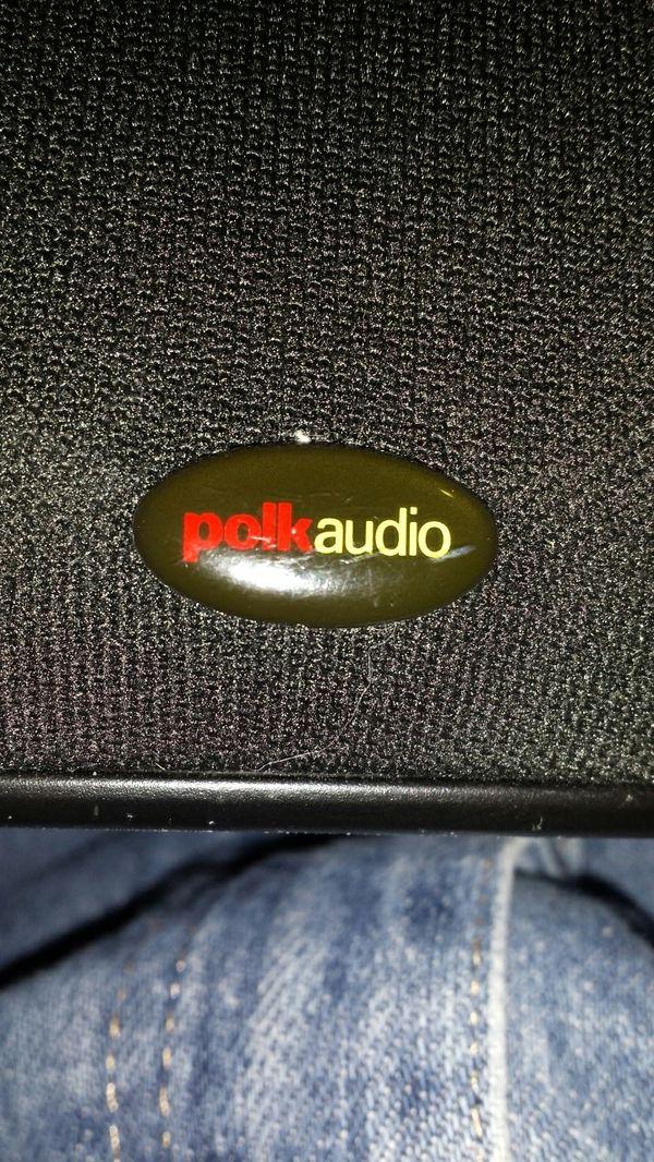POLK AUDIO RM6751 CRISP CLEAR LOUD SPEAKERS