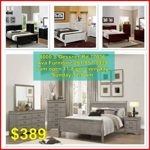 4pc Queen, full, twin bed set for Sale in Houston, TX