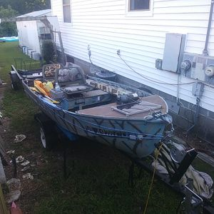 Custom. 12' fishing boat for Sale in Norfolk, VA