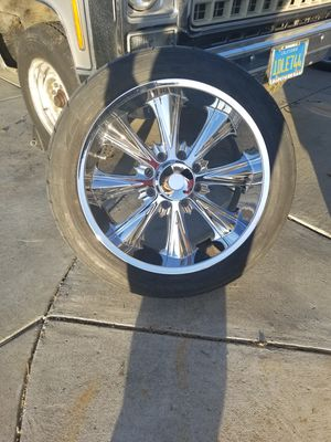 WHEELS, 22x9.5 wheels, nitto tires for Sale in Dixon, CA