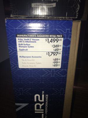 Kirby avalir 2 vacuum for Sale in Durham, NC