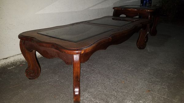 Coffee Table and 2x Side Table