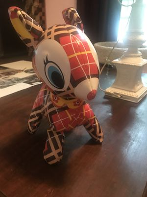 Rare plaid deer doll art plush for Sale in Boston, MA