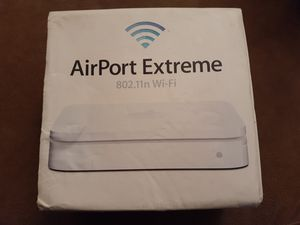 Apple wifi internet modem box to connect all your apple devices at home for Sale in Orlando, FL