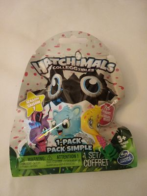 Hatchimals Colleggtibles Season 1 Blind Bag (recieve 1) for Sale in McMinnville, OR