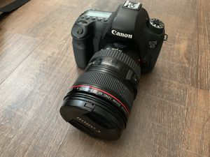 Canon 6D 3 lenses Rokinon battery bag flash and more! for Sale in Temecula, CA