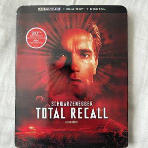 "Movie ""Total Recall "" 4KUltrahd +Bluray+Digital for Sale in Norwalk, CA"