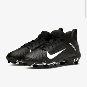 Nike, Special $30, Men's Alpha Menace 2 Shark, FastFlex, Football Cleat, Black/White, Size 14W, Brand New Item, Great Gift !! for Sale in Anaheim, CA