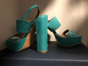 Teal Shoes size 6 for Sale in Rockville, MD