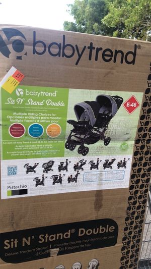 Sit n Stand Double Stroller for Sale in Naples, FL