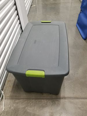 Storage tub container. for Sale in Laguna Hills, CA