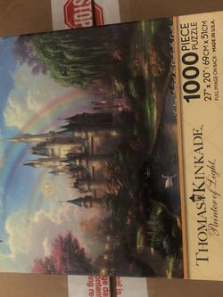 Disney A New Day At The Cinderella Castle Puzzle 1000 Pieces for Sale in Carson,  CA