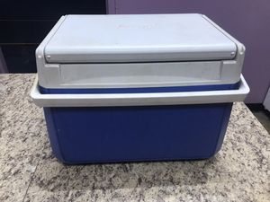 Coleman Mini Cooler – Blue & White for Sale in Decatur, GA