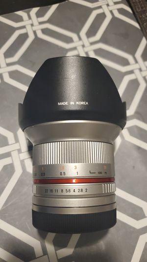 Rokinon len (samyang) 12mm aps-c for Sale in Tampa, FL