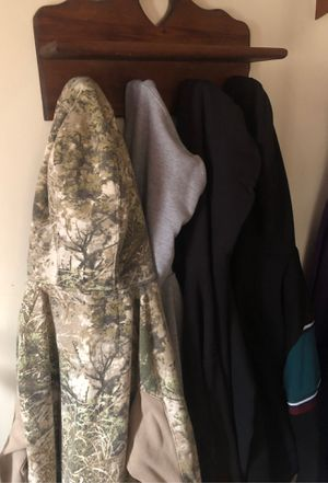 A barrette of men's medium and large hoodies. for Sale in Fredonia, KS