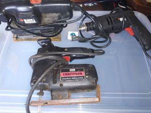 Drill,sander,jigsaw for Sale in Palm City, FL