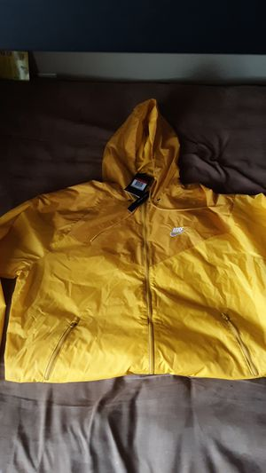 Brand new yellow Nike hoodie size large for Sale in Columbus a5af2f235