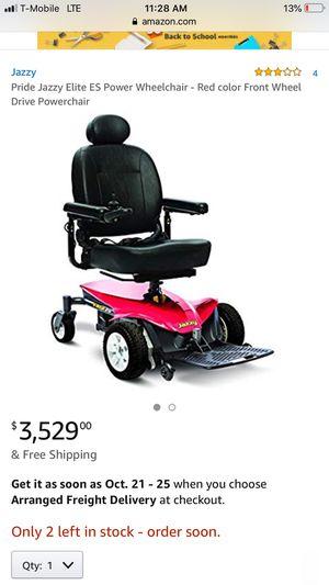 Elite ez wheelchair for Sale in Chicago, IL