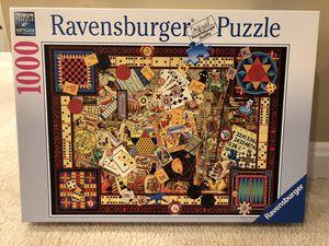 Ravensburger Premium Puzzle - vintage games! for Sale in Alexandria, VA