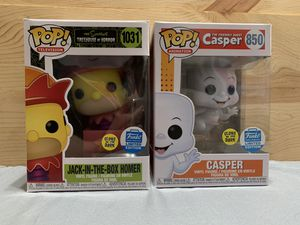 Casper & Jack in the Box Homer Funko Shop Exclusives for Sale in El Monte, CA