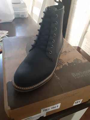 Barbour boot mens size 7 for Sale in Racine, WI
