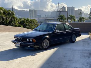 *CLASSIC* 1986 BMW 635csi, Clean title! Straight body! Rebuilt Trans! Mercedes Audi Porsche nike off white supreme for Sale in Honolulu, HI