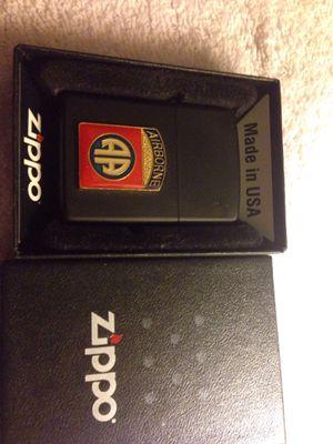 AIRBORNE Black Matte Zippo lighter New in Box for Sale in Bridgeport, CT