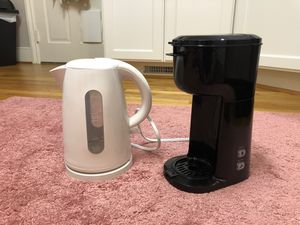 Single Serve Coffee Maker and Electric Kettle for Sale in Columbia, SC