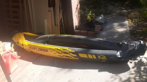 intex k2 inflatable kayak CN-XEE63480D919 for Sale in Aurora, CO