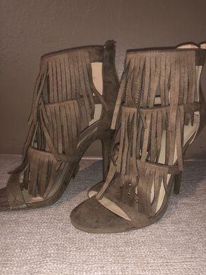Brown Fringe Heels for Sale in Oakland, CA