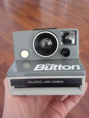 "Polaroid ""The Button"" Land Camera Instamatic FILM-TESTED for Sale in Chino, CA"