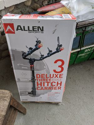 Bike hitch bike rack carrier in box for Sale in Bothell, WA
