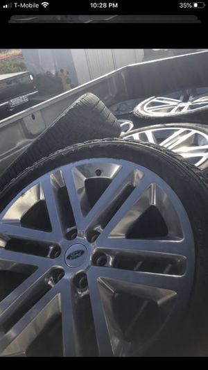 """22"""" Ford Expedition F150 oem tires and rims wheels for Sale in Temecula, CA"""
