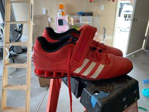 Adidas weight lifting shoes for Sale in Visalia, CA