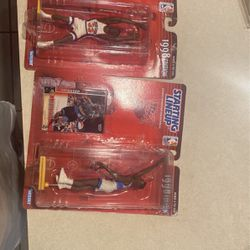 TWO 1998 STARTING LINEUP FIGURES WITH CARD for Sale in Groves,  TX