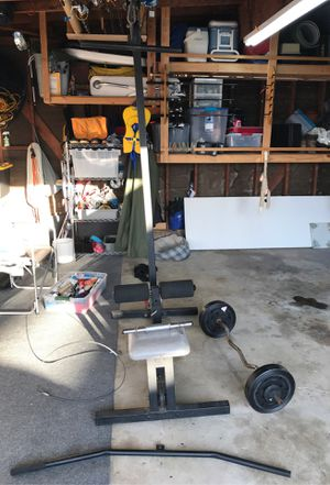 Weight lifting equipment for Sale in Westminster, CA