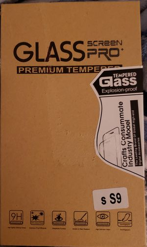 2 pack Screen Pro premium tempered glass screen protectors for Samsung Galaxy S9 for Sale in Oceanside, CA