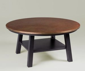 Ethan Allen copper top coffee table for Sale in San Francisco, CA