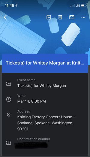 Whitey Morgan and the 78's for Sale in Spokane, WA