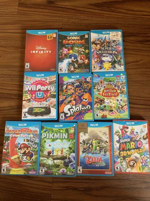 Nintendo Wii u games for Sale in Tampa, FL