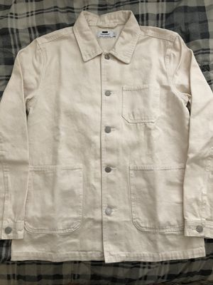 Topman Off-white Cream Color Chore Jacket for Sale in Walnut, CA