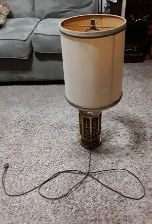 Table lamp with led bulb for Sale in Bloomington, IL