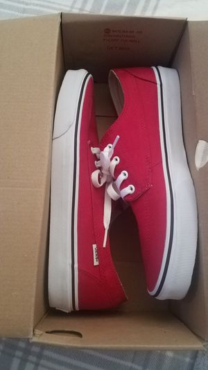 Vans Crimson Red for Sale in Lincoln, IL