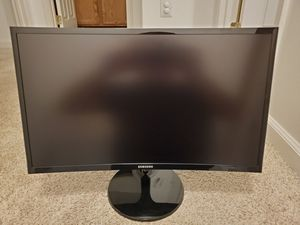 """Samsung 24"""" Curved HD Monitor for Sale in Laurel, MD"""