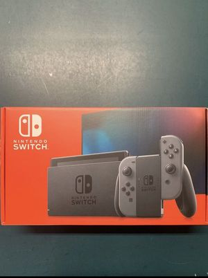 BRAND NEW NINTENDO SWITCH GRAY for Sale in San Francisco, CA
