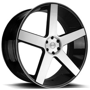 """24"""" Wheels AZ51 Black Machined Rims """"rims only"""" for Sale in Miami, FL"""