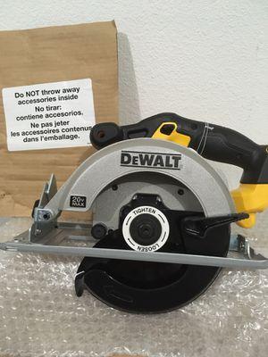 Dewalt 20v circular saw (TOOL ONLY) for Sale in Salem, OR