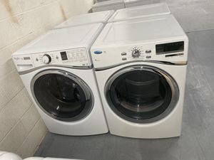 Whirlpool duet h/e front load washer and dryer set for Sale in Fort Mill, SC
