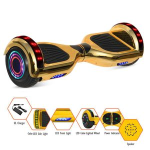 Chrome Hoverboard With Built-In Bluetooth Speaker- UL2272 Certified for Sale in Biloxi, MS