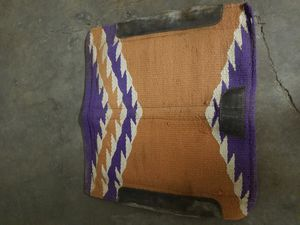 Western horse show saddle pad for Sale in Tempe, AZ